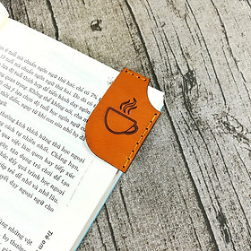 Combo 3 cái Bookmart Book, đánh dấu trang da bò handmade - Giao màu ngẫu nhiên