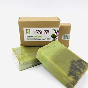 Xà bông Sinh Dược - Tía Tô (100 gram) - Xà bông thảo dược