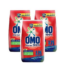 Combo 3 gói bột giặt Omo đỏ ( 400g / gói )