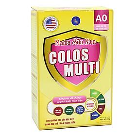 Mama Sữa Non Colos Multi A0 (1 Hộp 352g). Sản phẩm giúp trẻ Tăng Sức Đề Kháng Phát Triển Toàn Diện. Hàng Chính Hãng