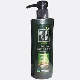 Dầu gội Dược liệu Nguyên Xuân xanh 250ml (Dưỡng tóc, phục hồi hư tổn)