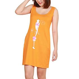 Đầm Ngủ Hồng Hạc Nutica NK0007 (Cam)