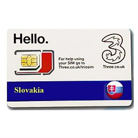 Sim du lịchSlovakia 4g tốc độ cao