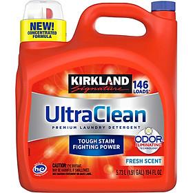 Nước giặt bền màu KIRKLAND SIGNATURE ULTRA CLEAN 5.73L 146 LOADS (Mẫu mới) - Nhập khẩu Mỹ