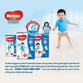 Tã Dán Sơ Sinh Huggies New 58+2 miếng cho bé dưới 5kg-1