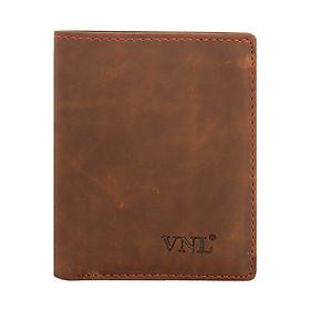 Ví Nam Da Thật DBD10CM18N VNL 212549 (12 x 24 cm) - Nâu Vàng