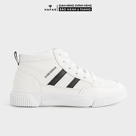 Giày Sneaker Nữ Cổ Cao 2 Sọc 2p - GSK282
