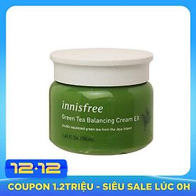 Kem Dưỡng Ẩm Từ Trà Xanh Đảo Jeju Innisfree Green Tea Balancing Cream EX 50ml