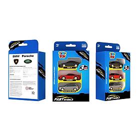 Bộ đồ chơi 3 xe tốc độ FastWheels 3 Inch