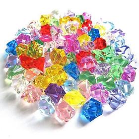 150 viên đá nhựa trang trí tiểu cảnh, bể cá, thả bình hoa thủy tinh