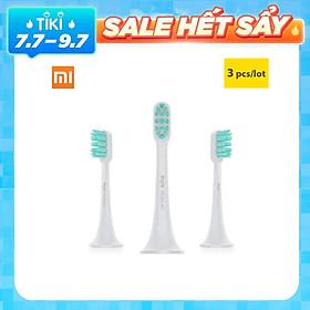 3 Cái đầu bàn chải thay thể cho Mijia Sonic Electric Toothbrush T300 T500