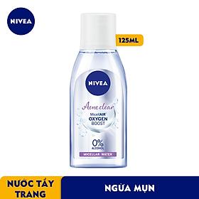 Nước Tẩy Trang NIVEA Acne Care Ngừa Mụn Micellar Water (125ml) - 89270