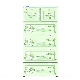 Tủ Tabi Duy Tân 5 Ngăn Lá No.H159/5 ( 60 x 48 x 124 cm ) - Họa tiết ngẫu nhiên