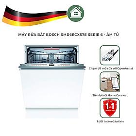 Máy Rửa Chén Bosch SMD6ECX57E Serie 6 Âm Tủ - Hàng Nhập Khẩu Đức - Made In Germany