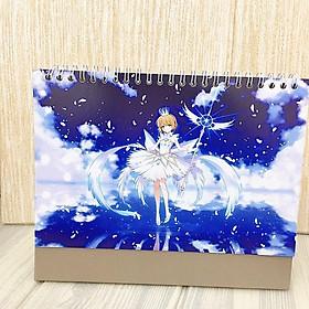 Lịch anime chibi 2020 Cardcaptor Sakura Thủ lĩnh thẻ bài để bàn tặng ảnh thiết kế Vcone