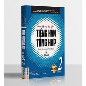 Tiếng Hàn Tổng Hợp Dành Cho Người Việt Nam - Sơ Cấp 2(Bản In 4 Màu) Tặng Kèm Portcard Những Câu Nói Hay Của Người Nổi Tiếng