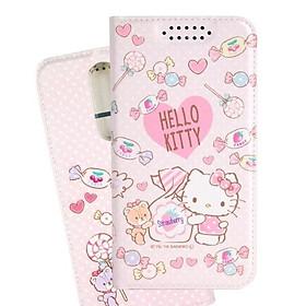 Ốp điện thoại da dạng đứng Hello Kitty OPPO R17 Pro dòng so sweet - hình kẹo dẻo