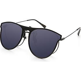 Blue (Bluekiki) high-definition polarized myopia sunglasses clip driving mirror sunglasses clips unisex J6001 black gray tablets