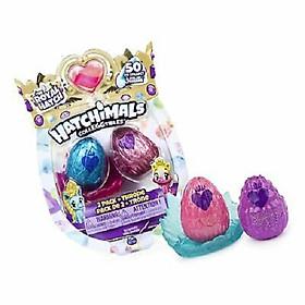 Mô hình đồ chơi HACHIMALS 2 trứng S6 6047181 ( 2 NHÂN VẬT )