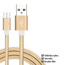 Saunaroom cáp sạc truyền dữ liệu tốc độ cao Cổng Micro USB cho dòng Android, iOS, type-c-Sản phẩm nhập khẩu