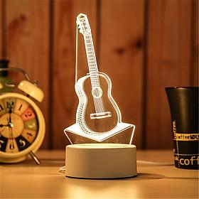 Đèn Ngủ 3D Ánh Sáng Sáng Tạo