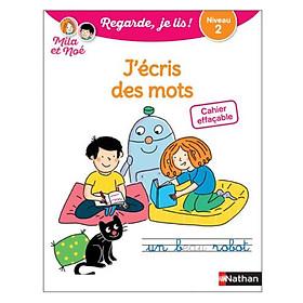 Cahier Effacable J'Ecris Des Mots - Niveau 2 Avec Mila Et Noe