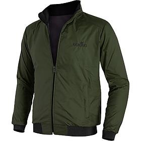 Áo khoác nam cách nhiệt GOKING, ngoài vải dù ấm áp, cản gió hiệu quả, bên trong có lớp cách nhiệt chống lạnh chống nóng tốt