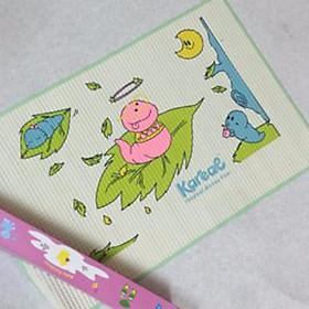 Nệm cao su chống thấm mẫu ngẫu nhiên cho bé gái