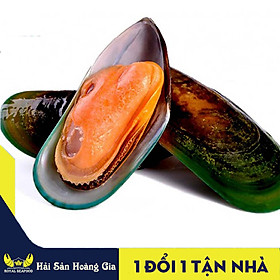 [Chỉ Giao HCM] - HCM - 1Kg Vẹm Xanh Thiên Nhiên (30~40con/kg) - Tặng Kèm Nước Hấp Sả Thơm Ngon Dậy Vị - Hải Sản Hoàng Gia