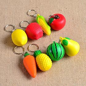 Móc Khóa Fruits Squishy (Giao ngẫu nhiên)