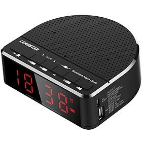 Wireless Bluetooth Radio Alarm Clock Phone Subwoofer Speaker Home Decration