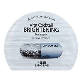 Mặt Nạ Dưỡng Da Trắng Mịn Banobagi Vita Cocktail Foil Mask Hàn Quốc Dành Cho Da Khô #Brightening (30ml)