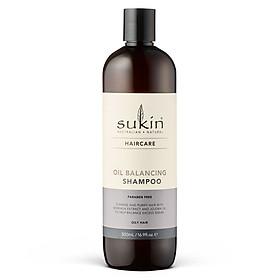 Combo gội xả cân bằng dầu Sukin Oil Balancing Shampoo 500ml & Sukin Oil Balancing Conditioner 1000ml-1