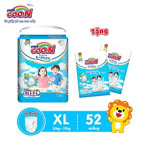 Tã quần Goon Premium cao cấp gói siêu đại XL52 (12kg ~ 17kg) + Tặng thêm 10 miếng cùng size-2