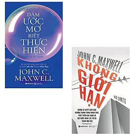 Bộ 2 cuốn sách dành cho người theo đuổi ước mơ: Dám Ước Mơ Biết Thưc Hiện - Không Giới Hạn
