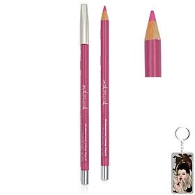 Chì Kẻ Môi Quyến Rũ Mik@Vonk Professional Lipliner Pencil Hàn Quốc #05 Màu hồng tặng kèm móc khoá - 1 cây