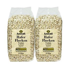 Combo 2 Gói Yến mạch Hafer Flocken (500g x 2 gói) - Deutschland (Dạng hạt cán vỡ)