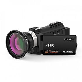 Máy Quay Kỹ Thuật Số Andoer 4K (1080HD) (48MP)