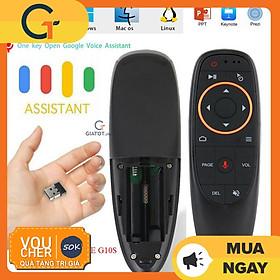 Cảm Biến Con Quay G10S Với Điều Khiển Bằng Giọng Nói Điều Khiển Từ Xa Mini Cho Android Tv Box
