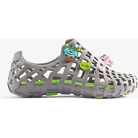 Giày nhựa đi mưa Nữ LD 101 Pop Xám xanh lá