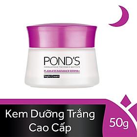 Kem Dưỡng Trắng Da, Giảm Thâm Nám Pond's Flawless White Ban Đêm (50g)