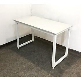 Bàn làm việc, bàn gaming chân sắt mạ tĩnh điện chữ U 1m2