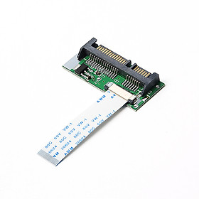 """1.8"""" ZIF / LIF CE HDD Hard Drive SSD to 7 + 15 22-pin SATA Converter Adapter for Toshiba and Samsung SSD"""