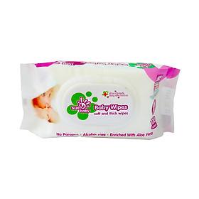 Combo 6 Bịch khăn ướt 100 tờ không mùi Sunbaby SBB2020-4