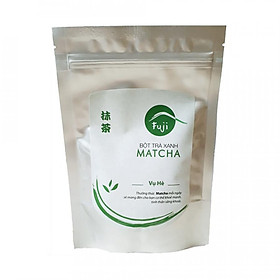 Bột Trà Xanh Fuji Matcha Hè 100g - Nguyên Chất 100% Tự Nhiên. Dùng Pha Chế Đồ Uống, Đắp Mặt, Làm Bánh.