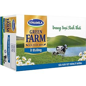 Biểu đồ lịch sử biến động giá bán Thùng 48 Sữa Tươi Tiệt Trùng Vinamilk Green Farm - Sữa Tươi 100% Ít Đường 180ml