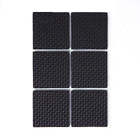 Bộ 4 Miếng Dán Vuông 4.5cm x 14.5m dán chân bàn ghế chống trượt, bảo vệ sàn nhà kèm keo dán