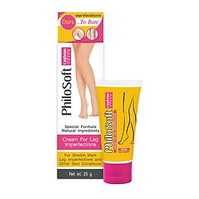 Kem Thoa giúp làm mờ các vết rạn da, mềm mượt cho da PhiloSoft Legbeau Cream 25g