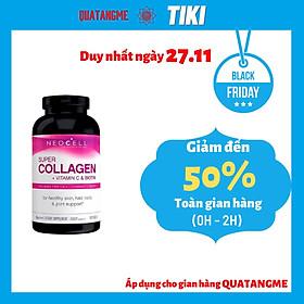 Collagen Mỹ NEOCELL Đẹp Da Khỏe Khớp Super Collagen +C Và Biotin (360 Viên)