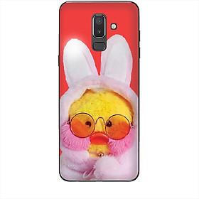 Hình đại diện sản phẩm Ốp lưng dành cho điện thoại SAMSUNG GALAXY J8 2018 Vịt Con Dễ Thương Mẫu 3